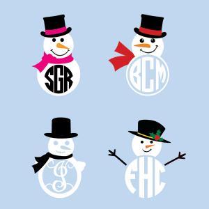 Free Snowman Cuttable!